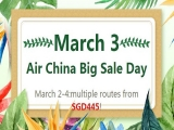 Air China Big Day Sale from SGD445