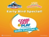 Online Travel Fair in Puteri Harbour with 2-Park Pass from RM169