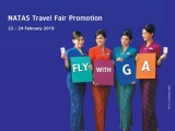 NATAS Travel Fair Promotion with Garuda Indonesia Deals