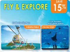 Fly and Explore Offer in One Faber Group Attractions