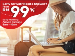 Early Morning Arrivals Package at Tune Hotel KLIA2