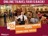 Online Travel Fair Promo – 35% Off on Tickets to KidZania Kuala Lumpur