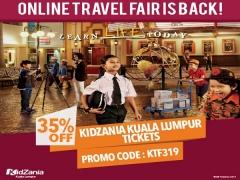 Online Travel Fair Promo – 35% Off on Tickets to KidZania Kuala Lumpur
