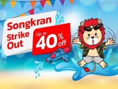 Songkran Strike Out. Up to 40% Off Fares with Thai Lion Air