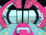 Singapore Flyer Launches the World's First Barbie™ Flight