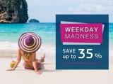 Weekday Madness with Up to 35% Savings at Centara Hotels and Resorts