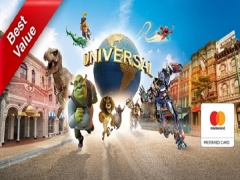 Mastercard® Exclusive: Buy Universal Studios Singapore Adult One-Day Ticket at SGD75 get FREE SGD5 Retail Voucher & Sesame Street Notebook