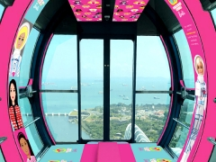 10% OFF Barbie™ Flight in Singapore Flyer Exclusive for NTUC Cardholders