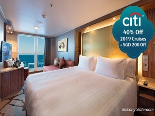 Citibank Exclusive: 40% Off on Genting Dream Plus SGD 200 Off on 2019 Summer Cruises
