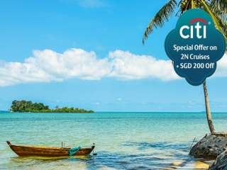 Citibank Exclusive: 2N Weekend Cruise Special Plus SGD 200 Off on Genting Dream