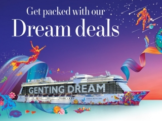 Special NATAS Offer: As Low As SGD 199 Per Guest on Genting Dream
