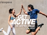 ClassPass Fitness Takeover Cruise on Genting Dream