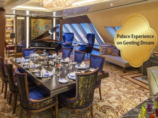Special Palace Offer on Genting Dream's Jan - Mar 2019 Cruises