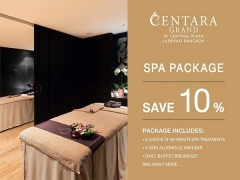 Spa Package at Centara Grand at Central Plaza Ladprao Bangkok