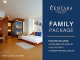 Family Package at Centara Seaview Resort Khao Lak