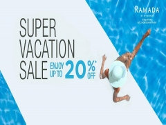 Super Vacation Sale with up to 20% Savings at Ramada Singapore