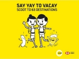 Say YAY to Vacay to 63 Destinations with Scoot and HSBC