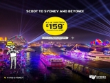 Scoot to Sydney and Beyond from SGD159
