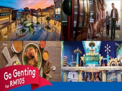 Go Resorts World Genting Package from RM105
