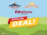 Special Deal for KidZania Singapore Customers at Puteri Harbour