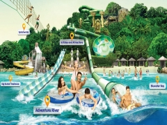 Complimentary SGD5 Meal Voucher and Souvenir in Adventure Cove Waterpark with UOB Card