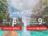 Super Global Deals at Hotels.com with Up to 40% Savings