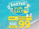 Easter Fun Sale in Cebu Pacific with Fares from SGD99