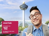 Jewel Sale with Fares from SGD52 in Jetstar
