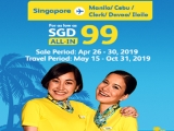 Explore Philippines with Cebu Pacific from SGD99
