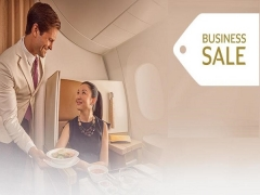 Indulge with the Business Sale in Etihad Airways