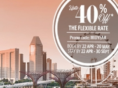 Mid-Year Break Asia: Save 40% on your Stay at Millennium & Copthornes Hotel