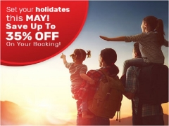Month of May Special Room Rate at Tune Hotels
