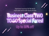 Business Class Two-to-go Special Fares in Asiana Airlines