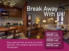 Break Away With Us Offer in The Royale Chulan Kuala Lumpur