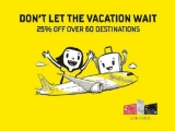 Scoot to Over 60 Destinations at 25% Off with UOB Cards