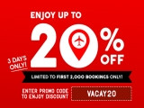 Up to 20% Off Flights on AirAsia for your Next Vacay
