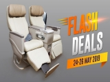 Flash Sale - Business Class Seats on Sale in Malindo Air