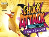 Chuck Attack Promotion in Angry Birds Activity Park Johor Bahru