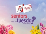 Seniors Tuesday Special in Gardens by the Bay Singapore