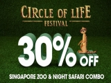 Circle of Life Local Resident's Promo for Singapore Zoo and Night Safari