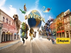 Maybank Exclusive: Universal Studios Singapore Adult Ticket + SGD5 Retail Voucher^ at SGD72 (U.P. SGD79)