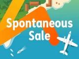Spontaneous Sale in Jetstar from SGD0
