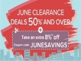 June Clearance Sale with Up to 50% Savings via Hotels.com
