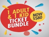 Exclusive S$80 Ticket Bundle in KidZania Singapore