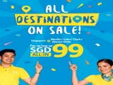 All Destinations on Sale - Explore Philippines with Cebu Pacific from SGD99