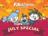 July Special - Visit the KidZania Singapore and Enjoy 50% OFF Admission Tickets