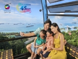 Sentosa Cable Car at $4.50 Sentosa Line (U.P. $15) with NTUC Card