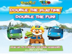 4 Hours Playtime on Weekends in Pororo Park Singapore