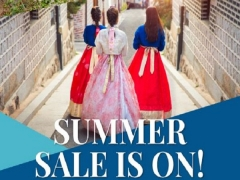 Summer Sale in On - Book your Seats to Seoul with Korean Air