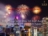 National Day Promotion 2019 at Hotel Yan Singapore